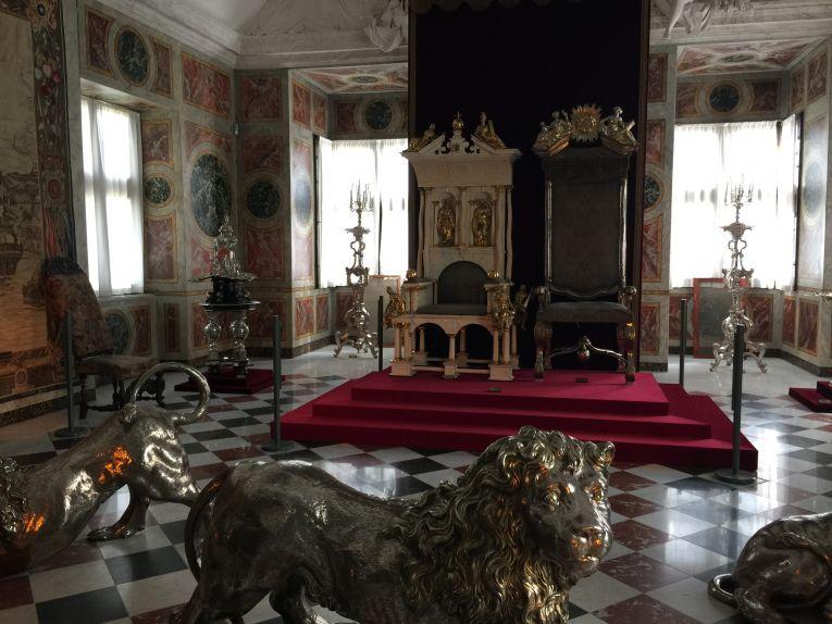 A Sala do Trono