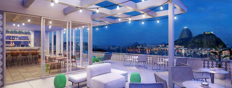 Rooftop Yoo2 Rio - foto web