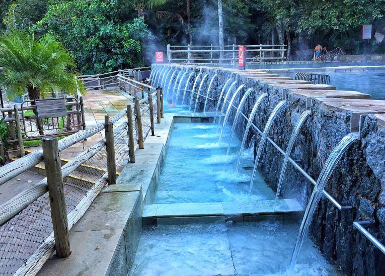 Parque das Fontes -Águas 37,5 graus