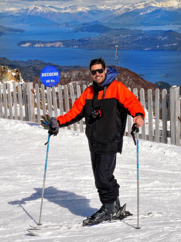 Esqui em Cerro Bayo - Max